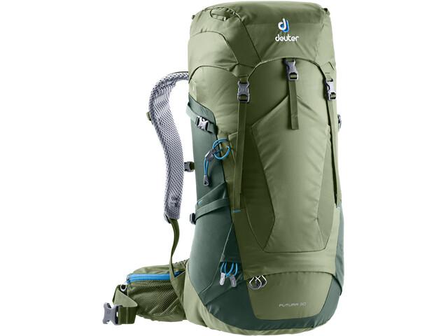 Größe 7 guter Service viele möglichkeiten Deuter Futura 30 Backpack khaki/ivy